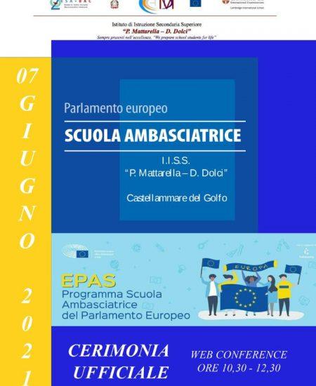 Parlamento Europeo Scuola Ambasciatrice